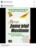 Buku Menuju Jama'atul Muslimin
